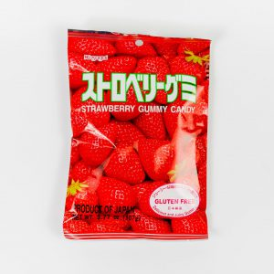 JAPANESE FRUIT GUMMY CANDY FROM KASUGAI - TRUSKAWKA - 107G