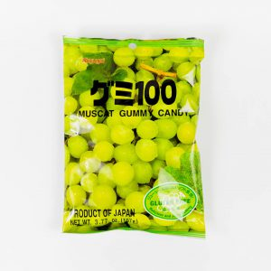 JAPANESE FRUIT GUMMY CANDY FROM KASUGAI - MUSCAT - 107G