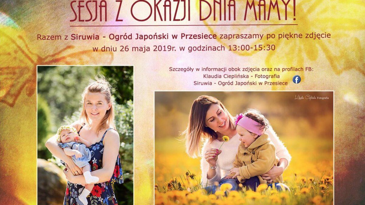 sesja fotograficzna na dzień matki