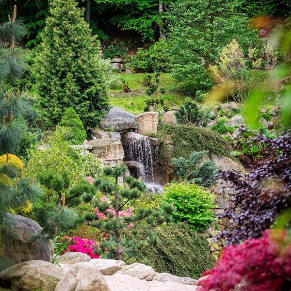 Ogród Japoński Mała Japonia. Brzozowe Wzgórze 8b, Przesieka